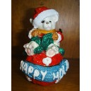 "Christmas box ""teddy bear"""