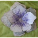 """Μεταλλικό, χειροποίητο, επίτοιχο """"λουλούδι"""" μικρό"""