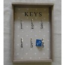 """Κλειδοθήκη-κρεμάστρα """"keys"""""""