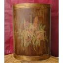 Ομπρελοθήκη ξύλινη ζωγραφισμένη
