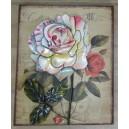 """Διακοσμητικό τοίχου """"τριαντάφυλλο"""""""