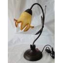 Φωτιστικό επιτραπέζιο, φυσητό γυαλί, κίτρινο