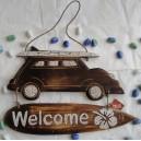 Αυτοκίνητο, επίτοιχο διακοσμητικό καλοσωρίσματος
