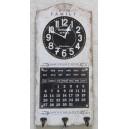 Ρολόι τοίχου - ημερολόγιο - κρεμάστρα